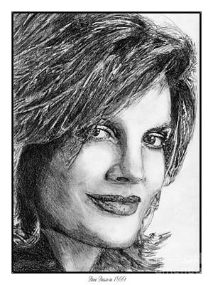 Drawing - Rene Russo In 1999 by J McCombie