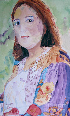 Painting - Renee by Sandy McIntire