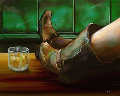 Renegade Gal Art Print by Dan Reeves
