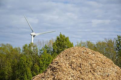 Photograph - Renewable Energy by Kennerth and Birgitta Kullman