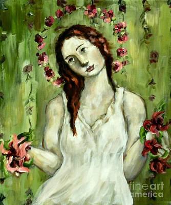Renewal Art Print by Carrie Joy Byrnes