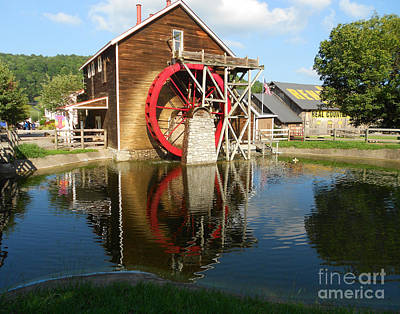 Art Print featuring the photograph Renfro Valley  Mill by Mary Carol Story