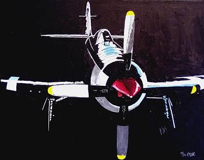 Reno Air Races Art Print by Paul Guyer