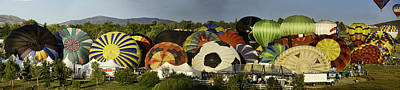 Reno Balloon Race Panorama Art Print