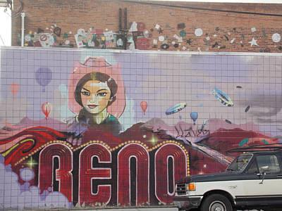 Reno Art Print