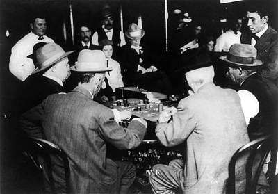 Photograph - Reno Gambling, 1910 by Granger