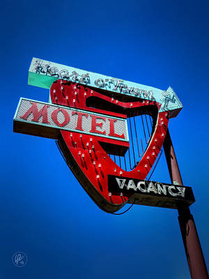 Photograph - Reno - Heart O' Town Motel by Lance Vaughn