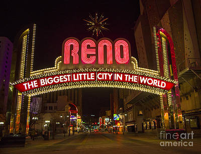 Photograph - Reno by Louise Magno