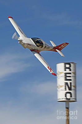 Lancair Photograph - Reno Pylon- Lancair Super 360 by Steve Rowland