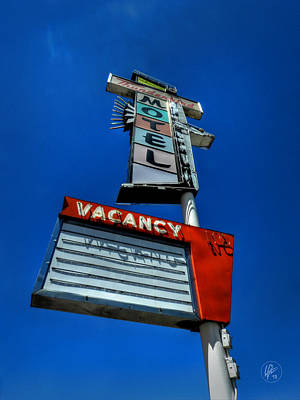 Photograph - Reno - Thunderbird Motel by Lance Vaughn