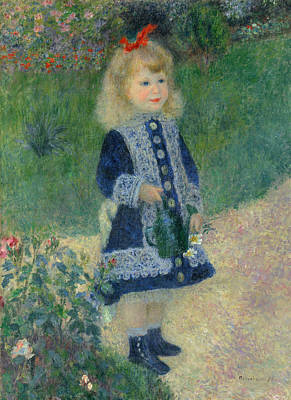Renoir Girl, 1876 Art Print by Granger