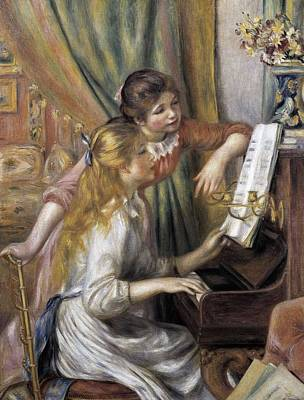Renoir, Pierre-auguste 1841-1919. Two Art Print by Everett