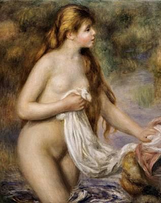 Impressionism Photograph - Renoirpierre-auguste 1841-1919. Bather by Everett
