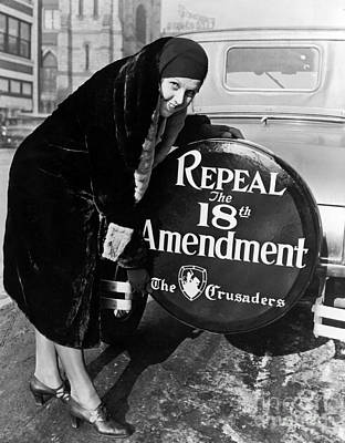 Wanting Photograph - Repeal The 18th Amendment by Jon Neidert