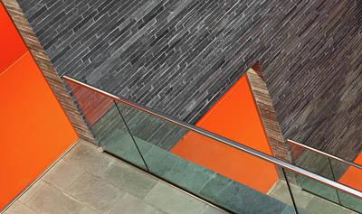Netherlands Photograph - Repeat The Orange by Jeroen Van De