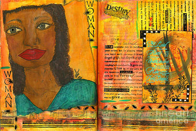 Mixed Media - Repetition Is The Key To All Learning by Angela L Walker
