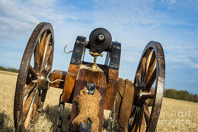 Photograph - Replica Civil War Cannon by Imagery by Charly