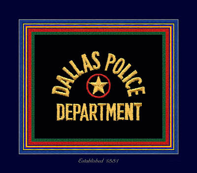 Replica Dpd Patch With Epaulette Colors Art Print by Robert J Sadler