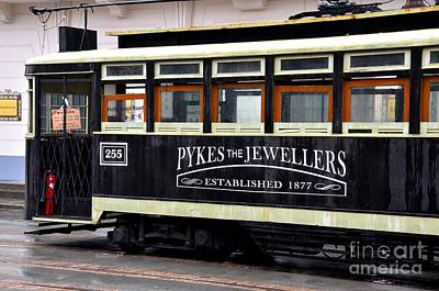 Photograph - Replica Of Antique Shanghai Tram Trolley China by Imran Ahmed