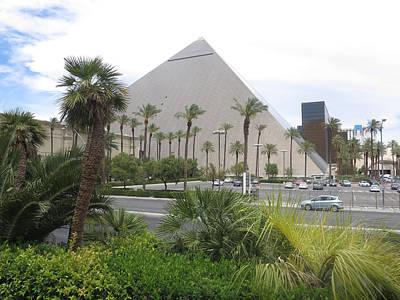 Photograph - Replica  Pyramid Of Egypt In Las Vegas Museum by Navin Joshi