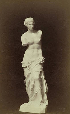 Venus De Milo Drawing - Replica Venus De Milo, Anonymous by Artokoloro