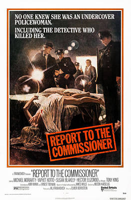 Report To The Commissioner, Us Poster Print by Everett