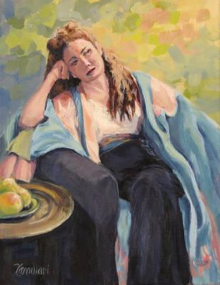 Painting - Repose by Karen Ilari