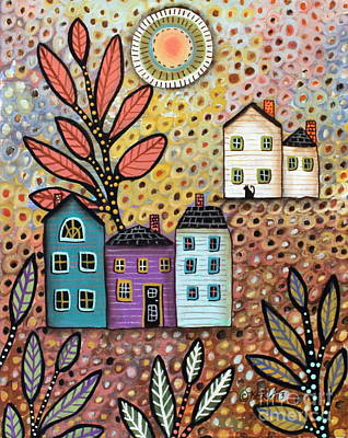 Folk Art Painting - Repose by Karla Gerard