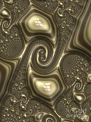 Fantasy Digital Art - Repousse in Bronze by John Edwards