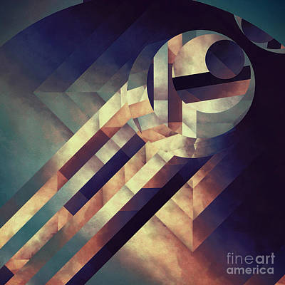 Repressed Elipse Art Print by Lonnie Christopher