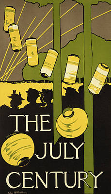Reproduction Of A Poster Advertising Art Print