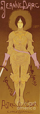 Art Nouveau Drawing - Reproduction Of A Poster Advertising by Georges de Feure