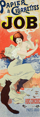 Reproduction Of A Poster Advertising Art Print by Georges Meunier