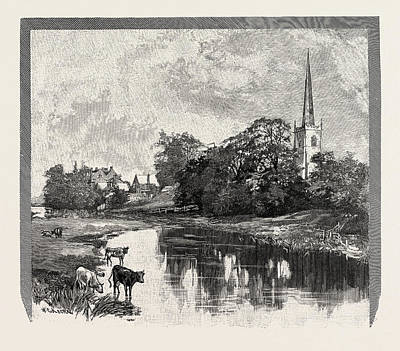 Parish Drawing - Repton Is A Village And Civil Parish On The Edge by English School