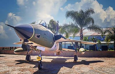 Art Print featuring the photograph Republic F-105 Thunder Chief by Steve Benefiel