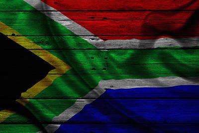 Republic Of South Africa Art Print
