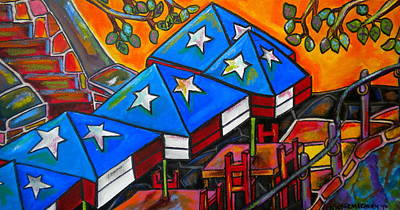 Painting - Republic Of Texas by Patti Schermerhorn