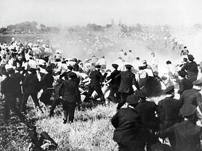 Photograph - Republic Steel Strike Massacre by Underwood Archives