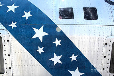 Photograph - Republic Thunderflash Rf-84k - Stars by Gregory Dyer