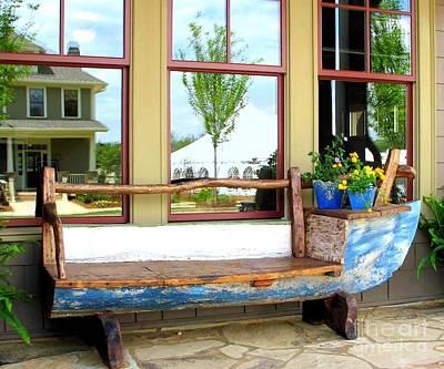 Photograph - Repurposed Old Boat by Renee Trenholm