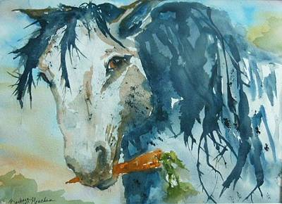 Painting - Rescue Horse by Barbara McGeachen