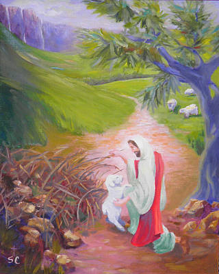 Painting - Rescued by Sharon Casavant