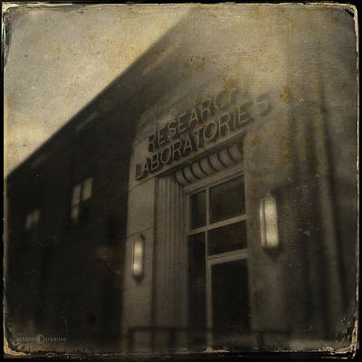 Photograph - Research Laboratories by Tim Nyberg