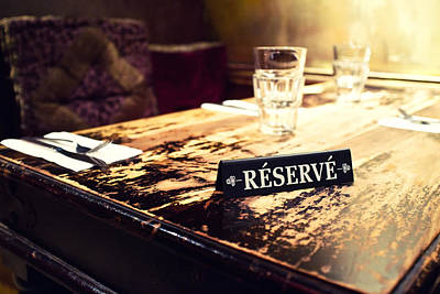 Montreal Restaurants Photograph - Reservations Required by Tanya Harrison