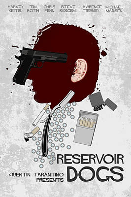 Tarantino Digital Art - Reservoir Dogs by Edgar Ascensao