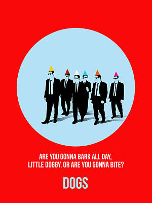 Tarantino Digital Art - Reservoir Dogs Poster 1 by Naxart Studio