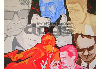 Reservoir Dogs Tribute Art Print by Gary Niles
