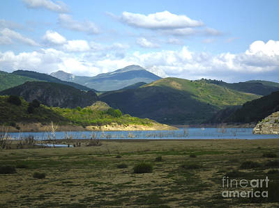 Photograph - reservoir of Riano Leon Spain by Stefano Piccini