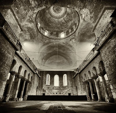 Orthodox Christian Photograph - Resilient - Hagia Irene by Stephen Stookey