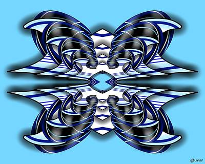 Digital Art - Resist The Flow 3 by Brian Johnson